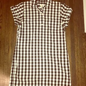 Cutest J. Crew gingham summer dress